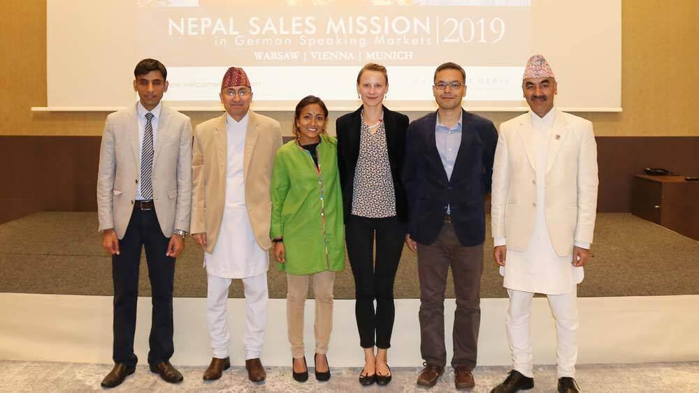 Nepal zeigte sich in Wien