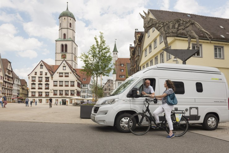 Mit dem Wohnmobil in der Ferienregion Oberschwaben-Allgäu unterwegs