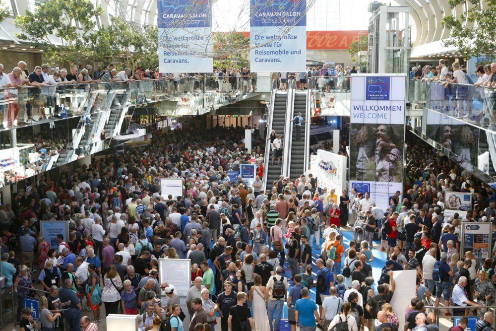 CARAVAN SALON in Düsseldorf mit Messestart zufrieden