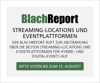 BlachReport sucht die besten Streamingstudios und Eventplattformen