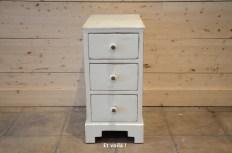 Vintage filing cabinet - off white - etvoilaatelier