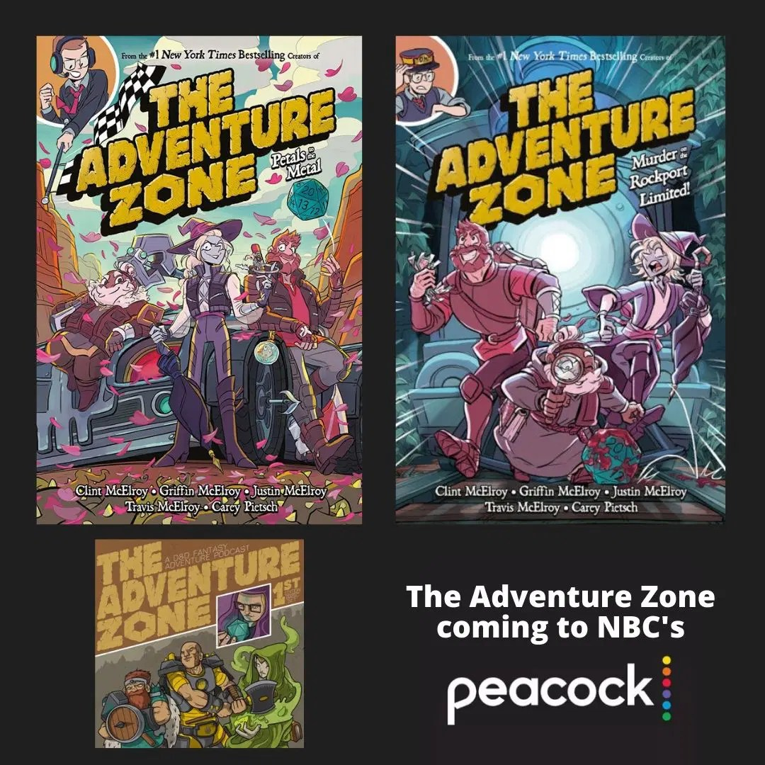 the adventure zone coming to nbc s