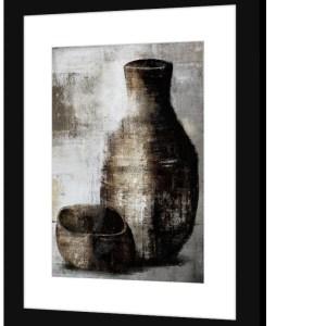 Image vase bol noir Etxe Mia!