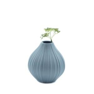 vase grès bleu Etxe Mia!