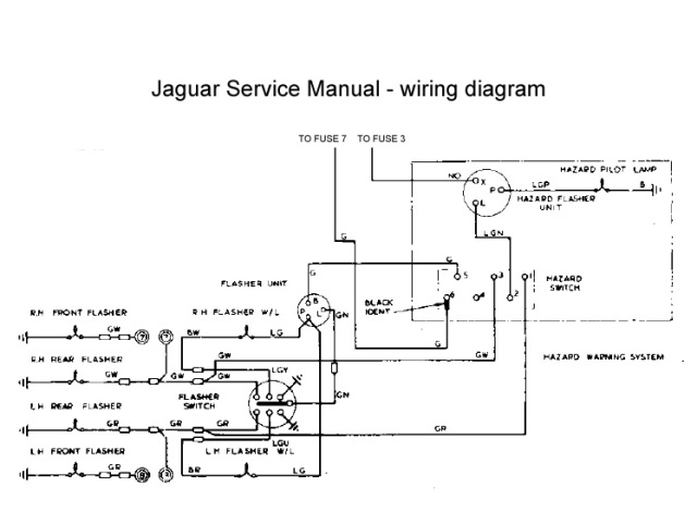 wiring diagram for lucas ignition switch cat 3 telephone hazard lights – restoration of nnf 10h