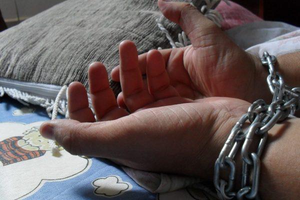 Human traffickers targeting men