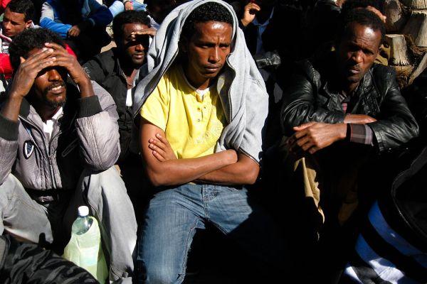 Libyan trafficking gangs