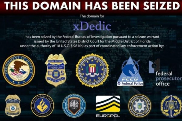 The xDedic marketplace has been shut down by order of a Federal Judge in the United States