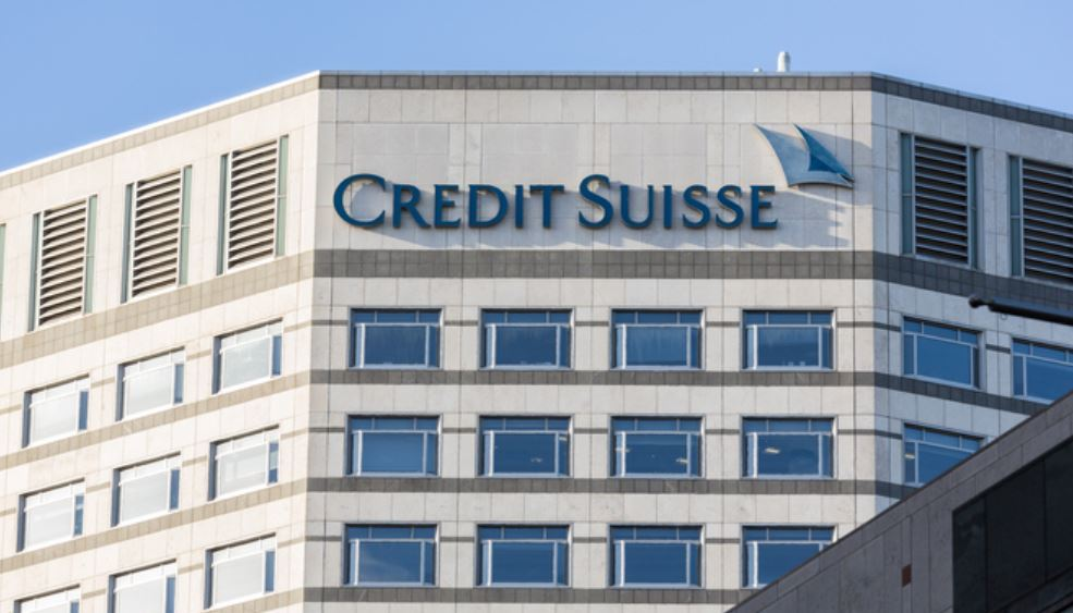 Credit Suisse offices in London
