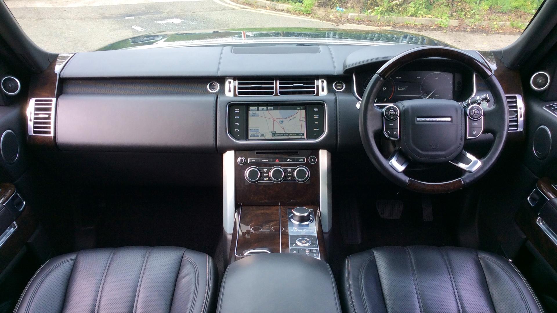 Used Land Rover Range Rover Autobiography TDV6 Black WU14MMA