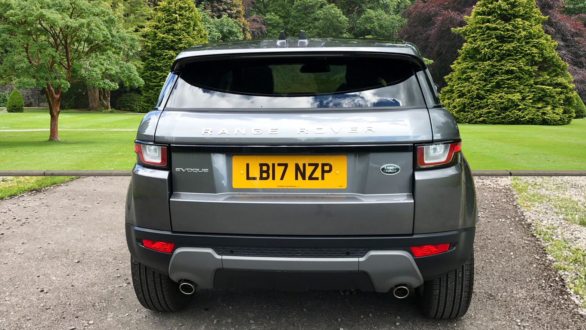 Used Land Rover Range Rover Evoque SE Tech TD4 Grey LB17NZP