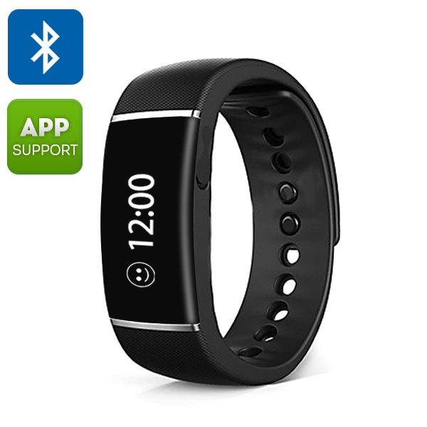 Ordro S55 Smart Wristband - Bluetooth 4.0, Call/SMS Reminder, Sedentary Reminder, Pedometer, Sleep Management, IP67