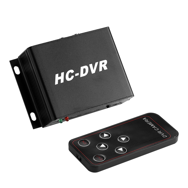 Mini HC-DVR - Video Playback, Real-Time Viewing, 2x 64GB SD Card Slot, HD Camera Support, Audio And Video, On-Site Playback