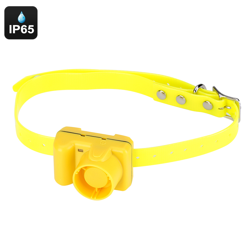 Beeping Dog Collar - IP65 Waterproof, 128dB, 100M Range, Run And Point Mode, Point Only Mode, 500mAh Rechargeable Battery