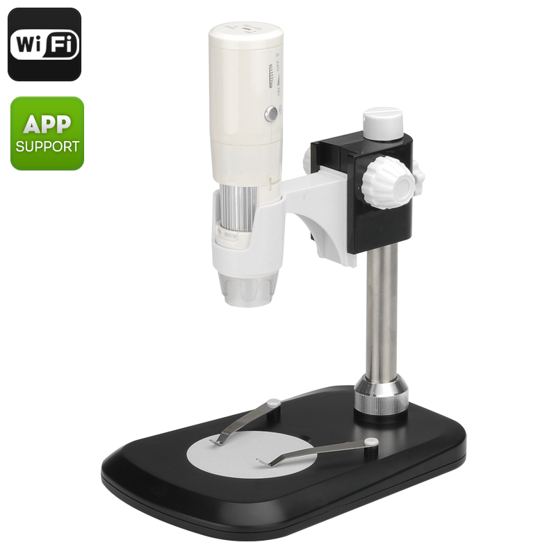Wireless Digital Microscope for Android and iOS - 800x Zoom, 2.0 Megapixel Sensor