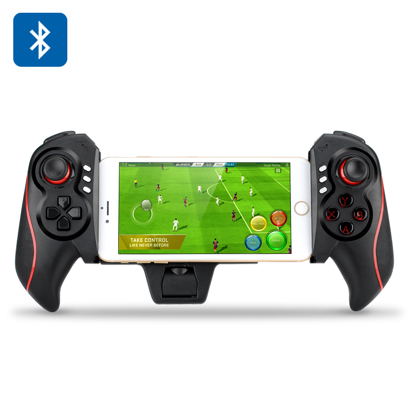 Wireless Smartphones + Tablets Game Pad - Android and iOS Support, Bluetooth, Modes: GAMEPAD, MOUSE, ICADE