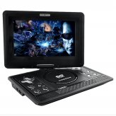 10 Inch Swivel Screen Portable Multimedia DVD Player