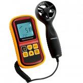 Digital Handheld Wind Speed Meter Anemometer (Beaufort Scale, Air Velocity, Temperature)