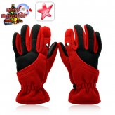 Winter Gloves with LED Light (Red, Medium)