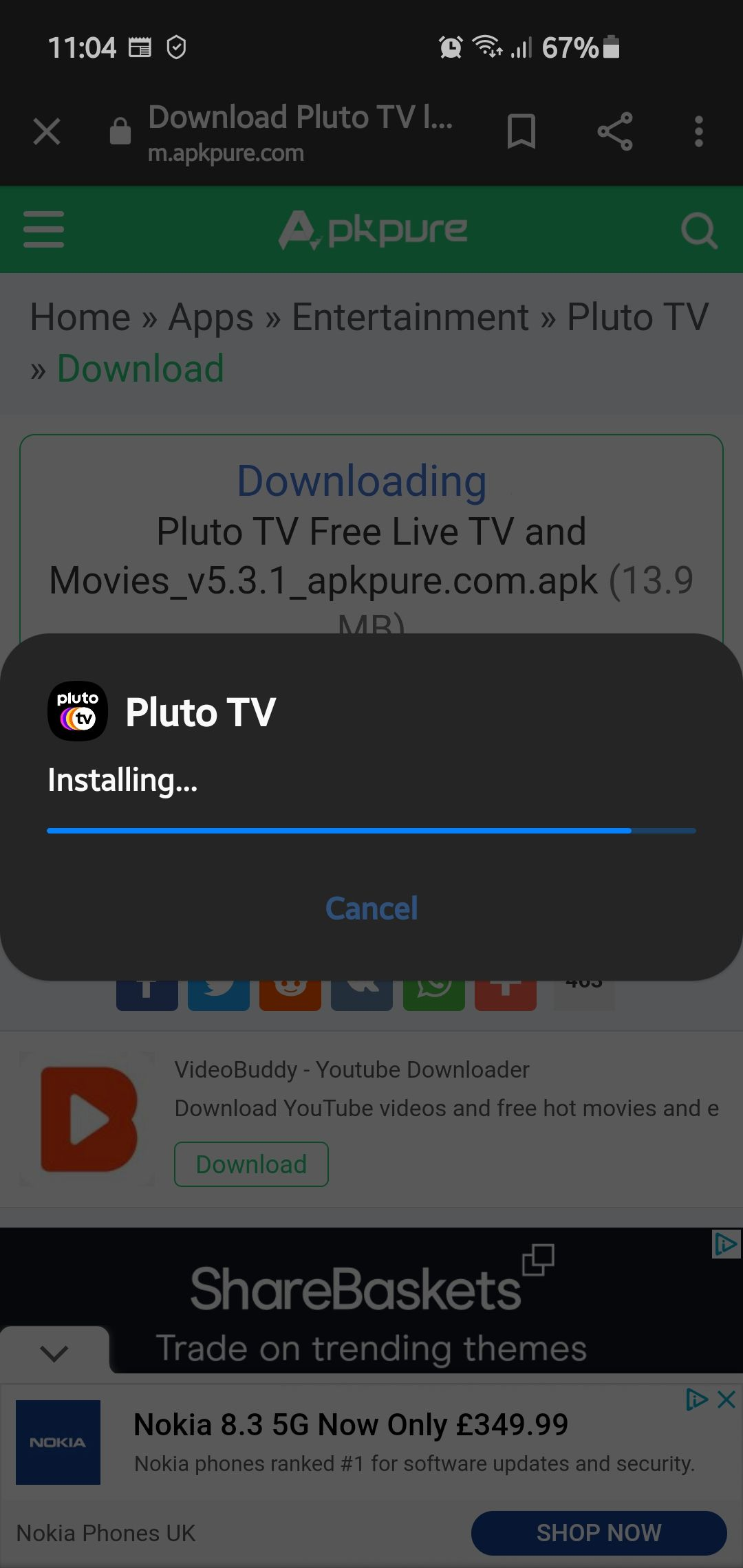 How to activate Pluto TV on Samsung smart TV