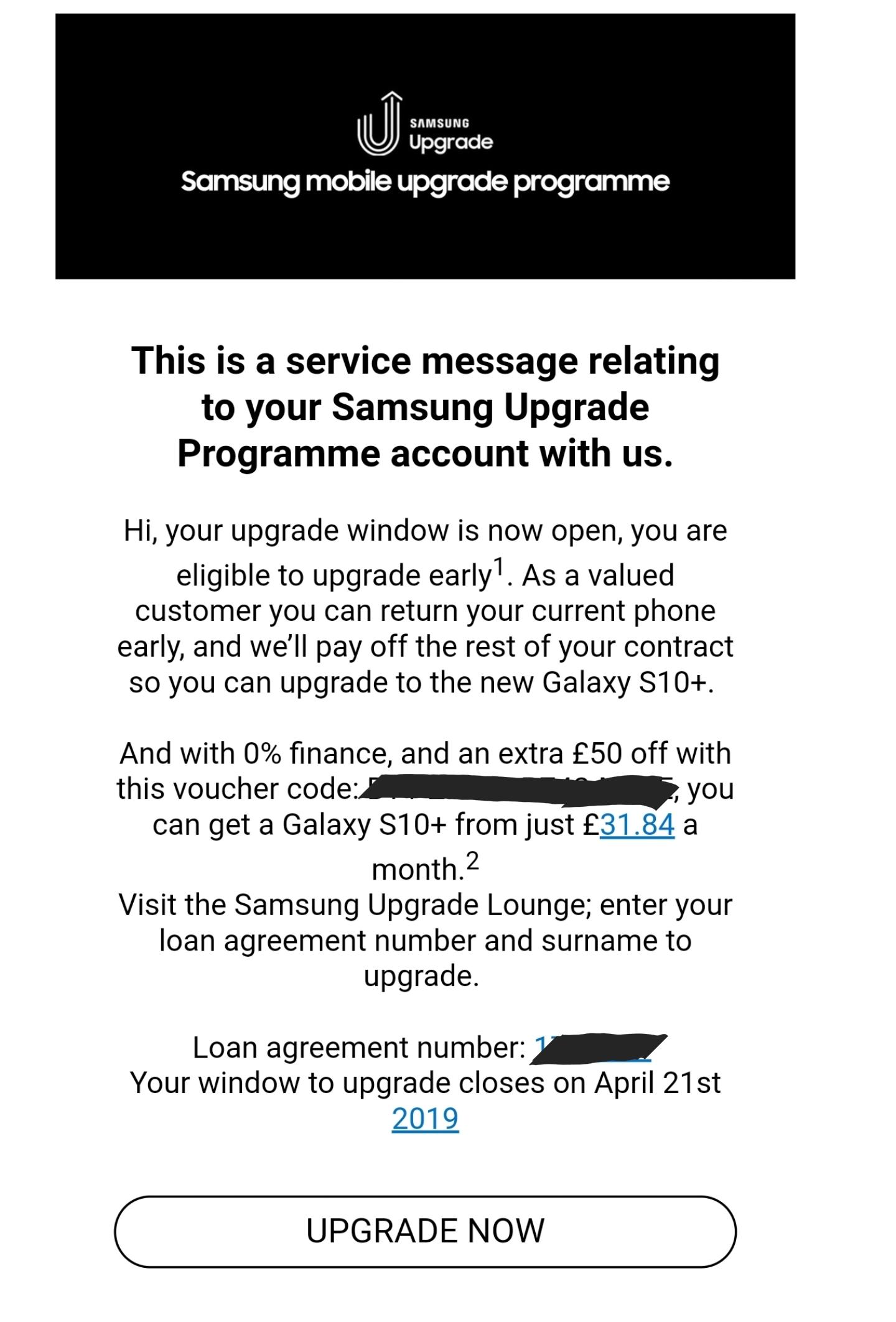Samsung Financing Account Number : samsung, financing, account, number, Solved:, Galaxy, Upgrade, Program, Samsung, Community
