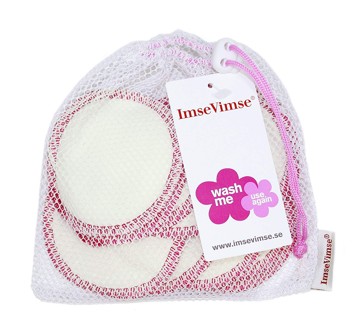 ImseVimse Washable Make-up Remover Pads - Pack of 10