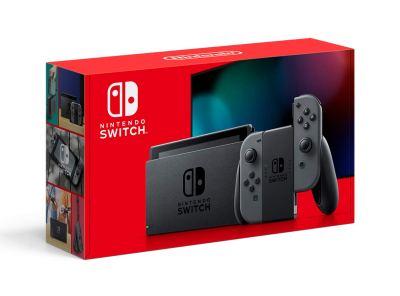 Nintendo Switch with Gray Joy‑Con