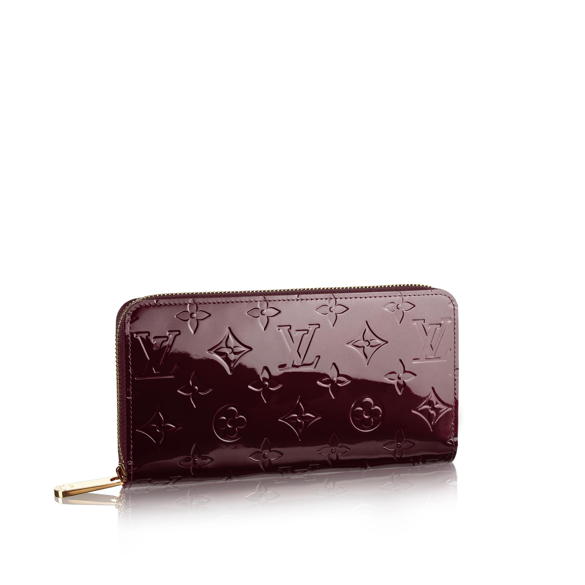 Zippy Wallet Monogram Vernis Leather  Small Leather Goods