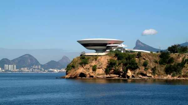 Cruise Collection Niteroi Contemporary Art Museum Designed Oscar Niemeyers
