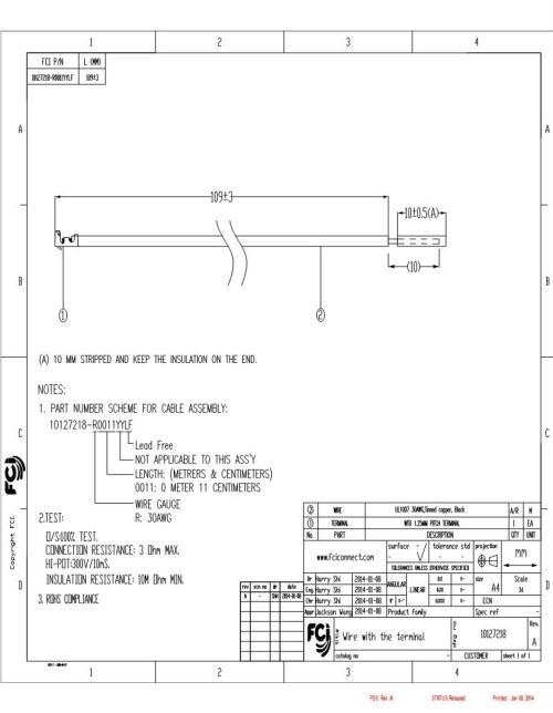 small resolution of 4910 fci amphenol jumper wires