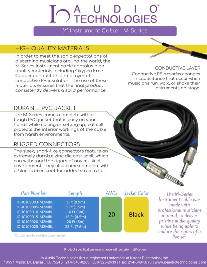 medium resolution of 10 tr audio cables video cables rca cables datasheets