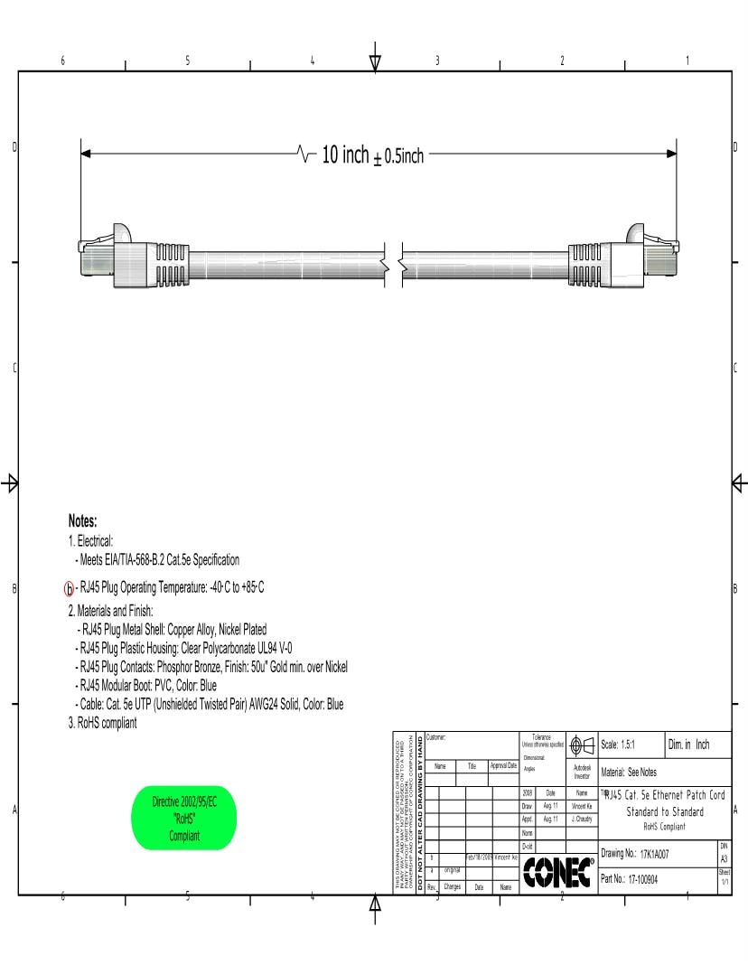 medium resolution of 904 ethernet cables networking cables datasheets