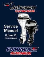 1996 Johnson/Evinrude Outboards 8 thru 15 Four-Stroke