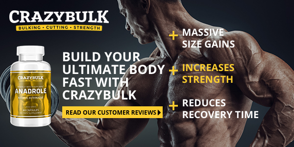 Anadrole massive size gains, increases strength, reduces recovery time