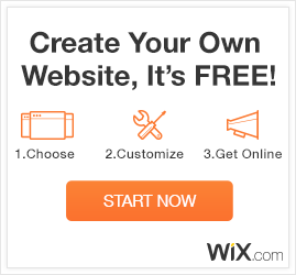 Your stunning website is just a few clicks away. It's easy and free with Wix.