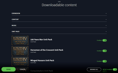 downloadable content europa universalis
