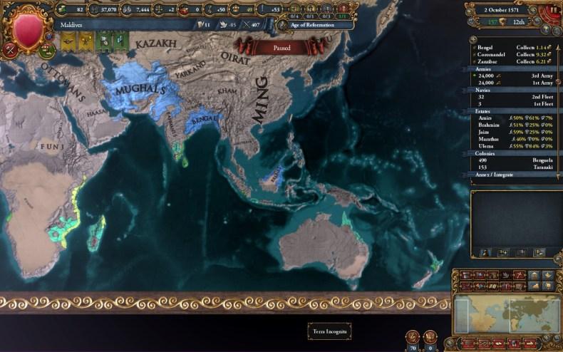 Timurids strategy eu4