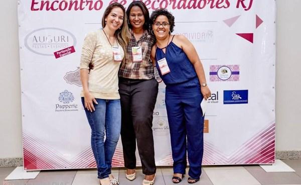 Da direita para esquerda: Renata Campelo, Denise Lage e Nívia Azevedo. Foto: divulgação