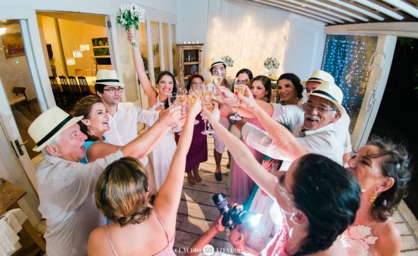 Casamento da Gabi e Ge, em Búzios, na CasaAmar. Foto: Claudio Azevedo