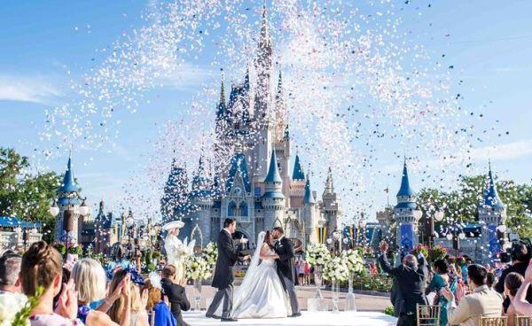 Casamentos no castelo da Cinderela - Disney - Foto Divulgação
