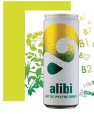 the green and healthy image of alcohol