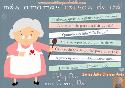 Mensagem Dia Das Avos: Dia Dos Avós