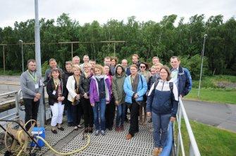 MORPHEUS partners at Kristianstad Wastewater Treatment Plant