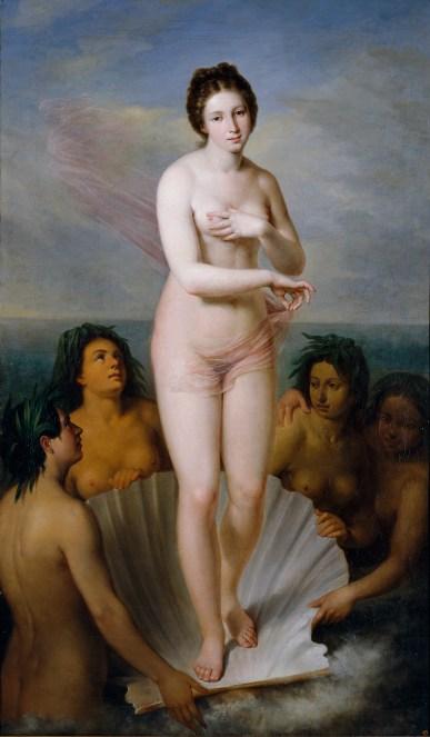 Nacimiento de Venus esquivel
