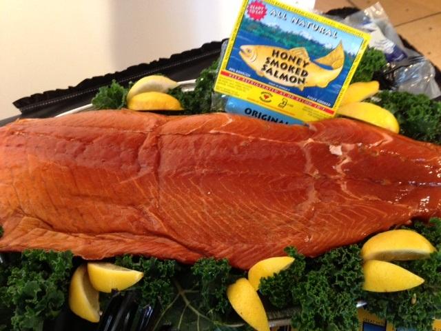 Honey Smoked Salmon Euclid Fish Company