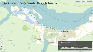 Dia 5.4 - Puerto Pañuelo a Bariloche