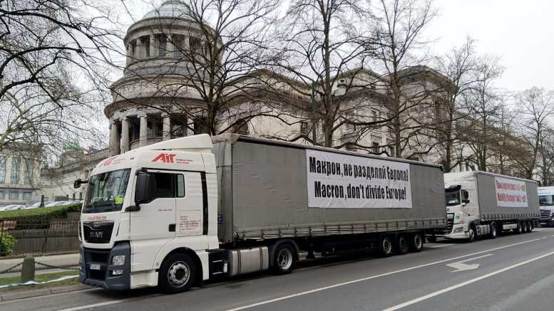 All Bulgarian MEPs back the truck drivers' protests in