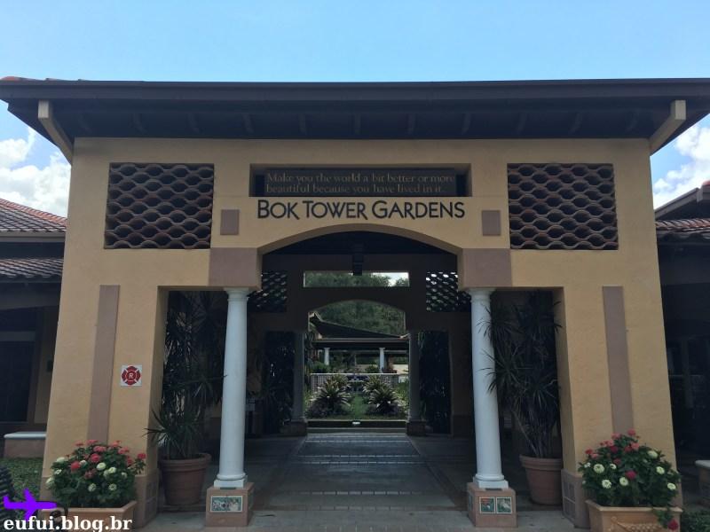 Entrada Bok Tower Gardens Central Florida
