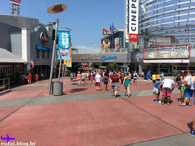Parques Universal Studios city walk