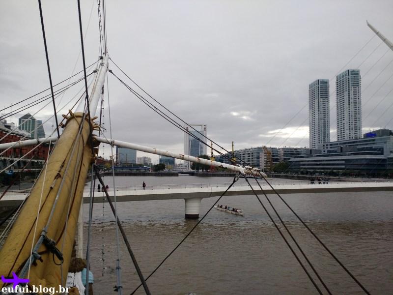puerto madero fragata presidente sarmiento vista ponte